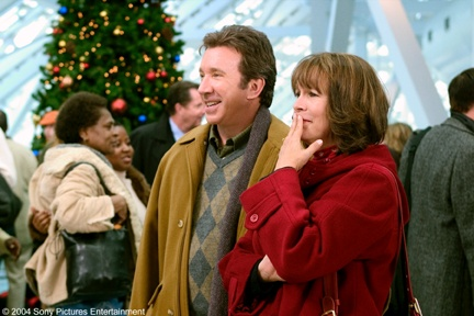 tim allen with jamie lee curtis in christmas with the kranks christmas pinterest