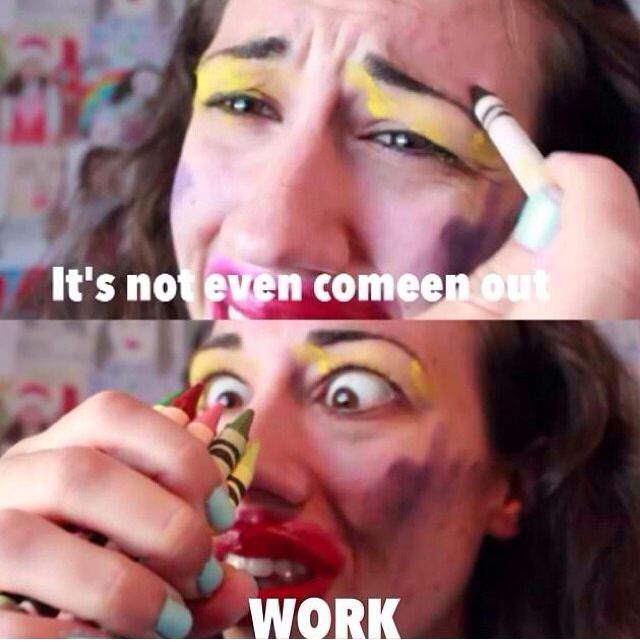 This girl miranda sings should me the right way to put listick as she says instead of lipstick lol