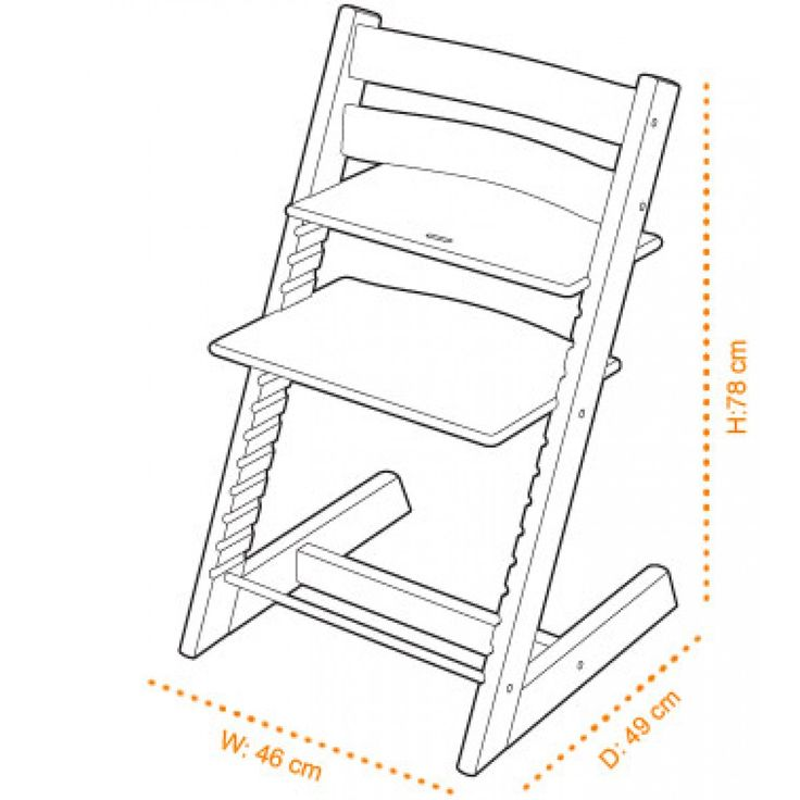 Stokke Tripp Trapp High Chair Baby Enroute In Ottawa Baby Store
