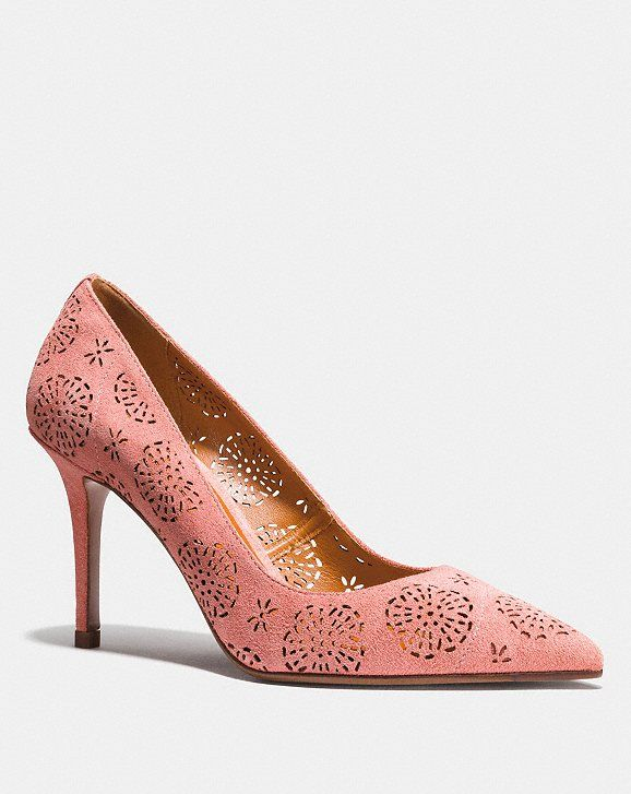 ca186c8971f Waverly Pump With Cut Out Tea Rose | shoes | Pumps, Tea roses, Tea