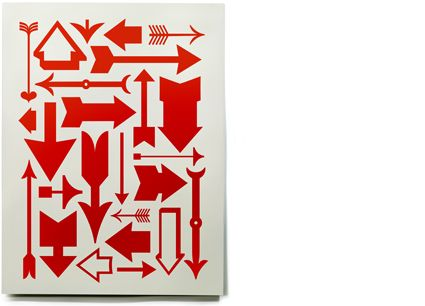 eames arrow serigraph