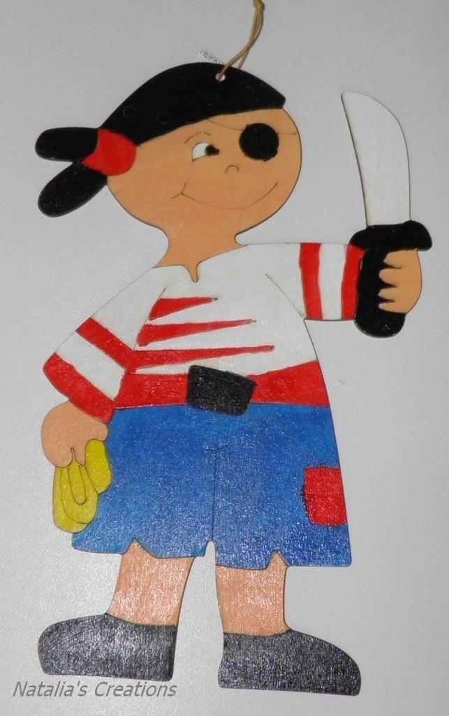 Ξύλινος πειρατής