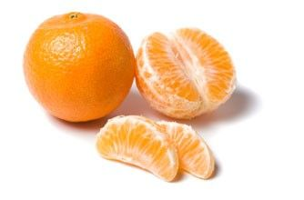 42 calories - low-fat, low-cal snack packed with vitamin C, plus, they're fiddly to eat which means your snack lasts longer!