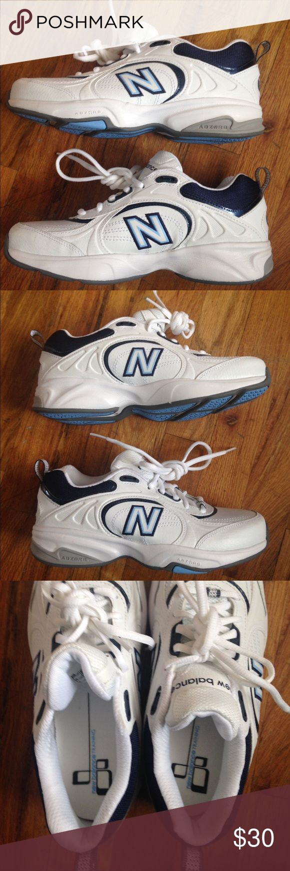 Women's New Balance WX623WB tennis shoes 6- EUC Never been worn outside. Blue/white. Women's size 6. New Balance Shoes Sneakers