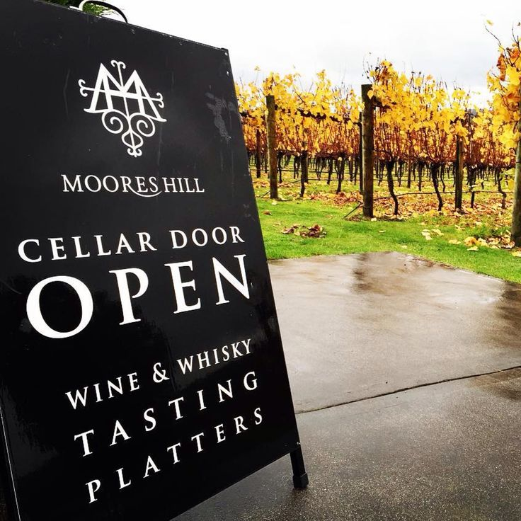 The cellar door is open all Winter. Have a glass of wine by the fire