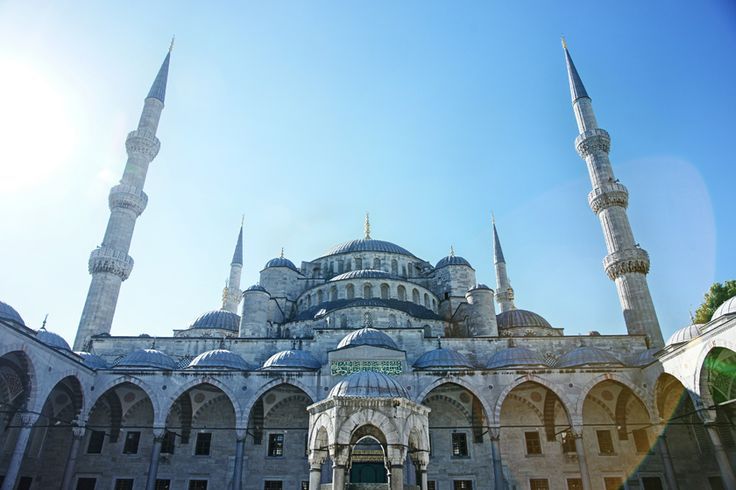 The iconic Blue Mosque Istanbul, Turkey 2012