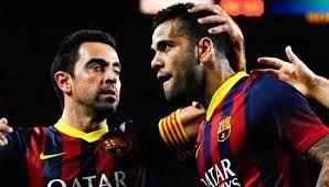 Barcelona Siap Lepaskan Xavi Hernandez Dan Daniel Alves