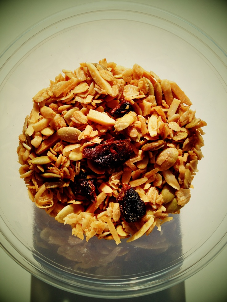 granola from Giant Coffee, Phx.