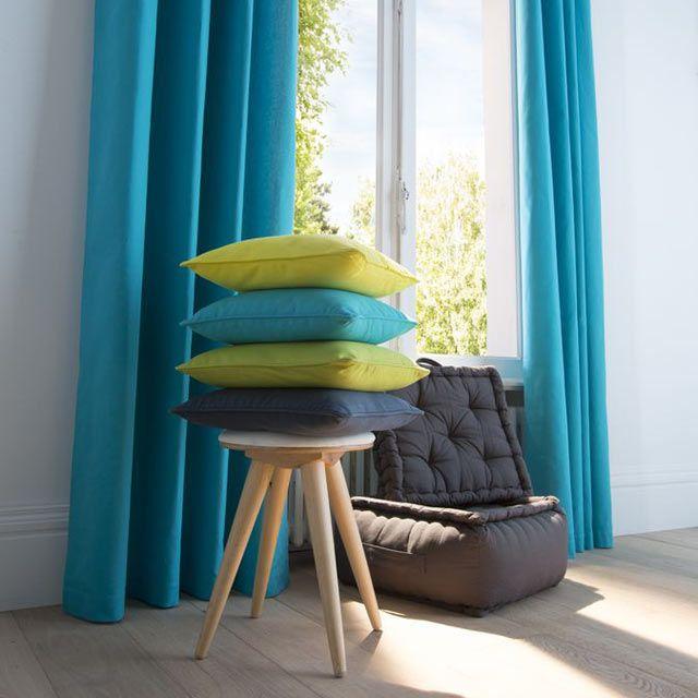 ... zen bleus turquoise bleus turquoise déco bleu rideaux zen ambiance