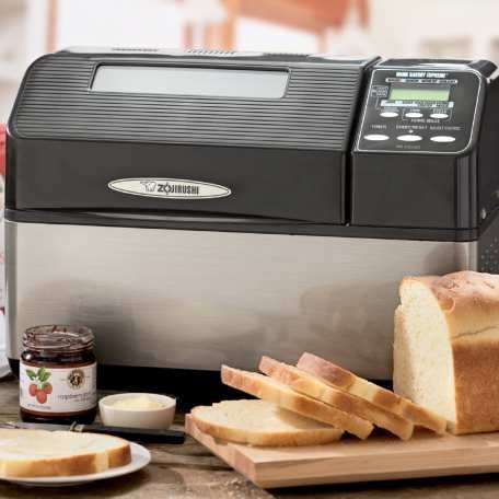 I love my Zojirushi bread machine!  I do not bake my bread in it but I let it do all the work and put the dough in my favorite bread pans and bake in the oven.