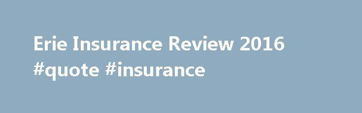 Homeowners Insurance Erie Homeowners Insurance
