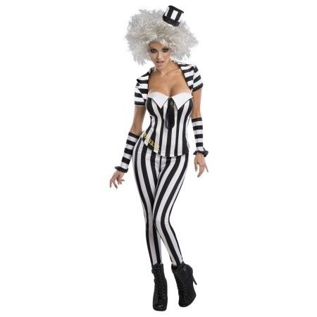 Adult Female Sexy Beetlejuice Costume by Rubies 884865 | Jet.com
