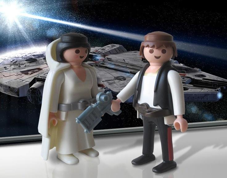 Han & Leia, Star Wars