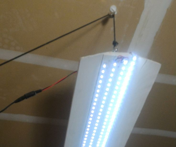 $10 LED Shop Light: 6 Steps (with Pictures)