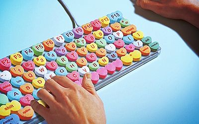 Candy Heart Keyboard-For if I ever manage to get a desktop computer!