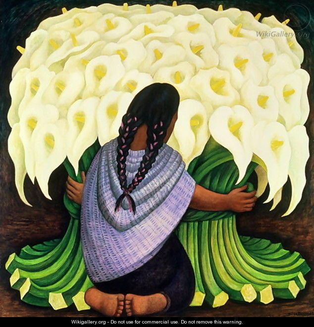 27 best saturnino herran mexican artist images on for Diego rivera famous mural