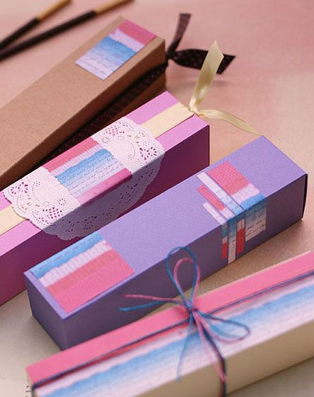 Gift box. Tutorial.