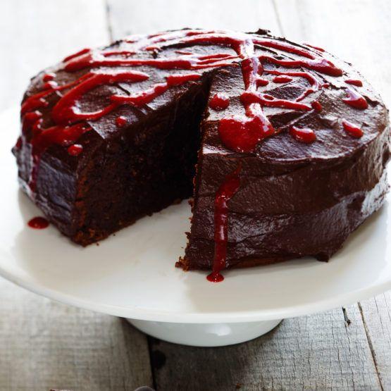 Chocolate ganache cake (dairy-free) by Nadia Lim | NadiaLim.com