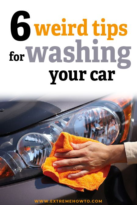 6 Car Washing Hacks | Automotive Maintenance DIY | Garage ...