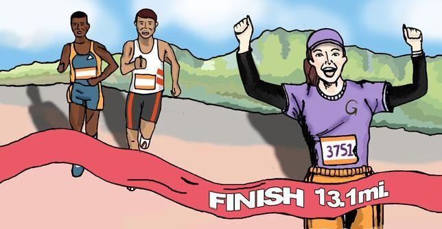 How to Run Your Best Half-Marathon Ever [INFOGRAPHIC] | Greatist