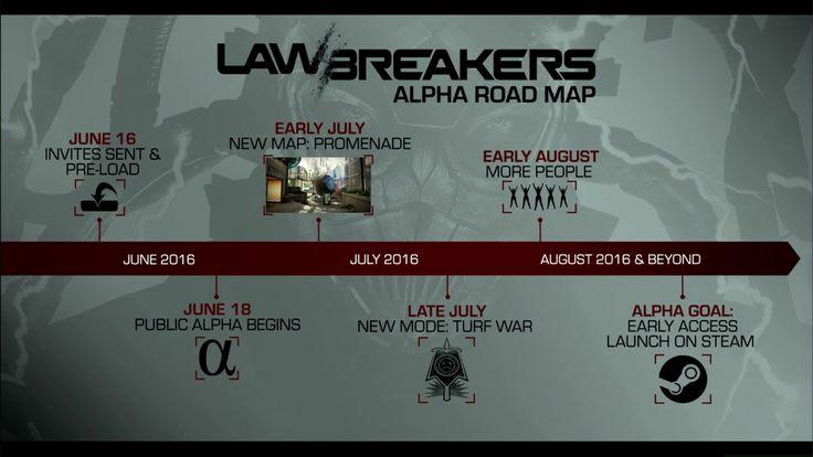 PC Gaming Show 2016 - Lawbreakers Shown, Alpha Announced - http://techraptor.net/content/pc-gaming-show-2016-lawbreakers   Gaming, News