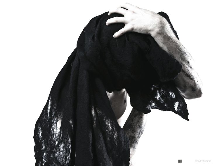 GRIM scarf by BRETHREN in collaboration with SOME/THINGS