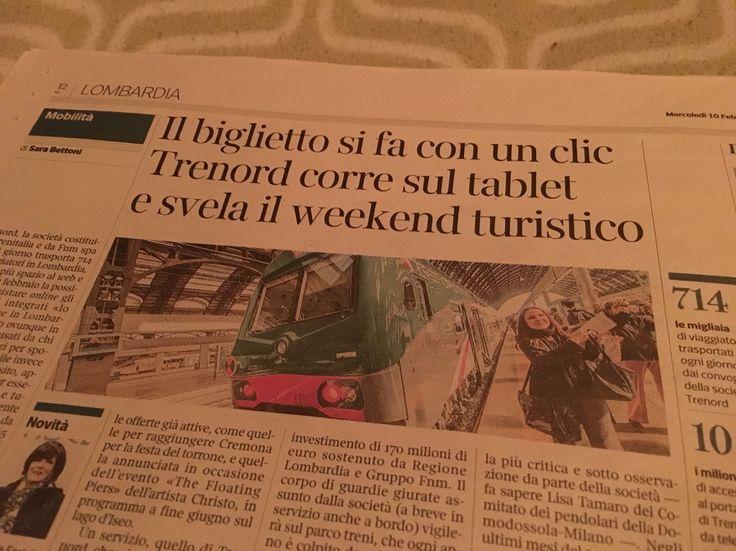 """11/11/2014 - Sede Trenord (P.za Cadorna, Milano) Ufficio HR, colloquio conoscitivo per proposta di lavoro. Ruolo: capo-treno (ero entusiasta per il piano Expo) ------ Referente: """"si rende conto che avrebbe a che fare con pochi turisti dopo Expo?"""" Io: """"credo che prenda il treno po' a gente per il tempo libero solo perché non si fida del servizio"""" Referente """"ma lei pensa che una persona che lo prende per andare al lavoro ogni giorno ABBIA VOGLIA di prendere un treno nel weekend per andare in…"""