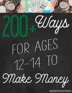 How to Make Money as a 12, 13 and 14 Year Old – Abigail