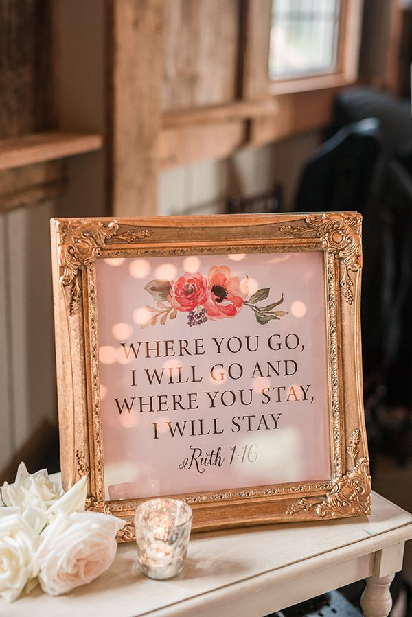 Romantic Wedding Signs | Audrey Rose Photography | http://heyweddinglady.com/playful-elegant-southern-blush-wedding-floral-print/