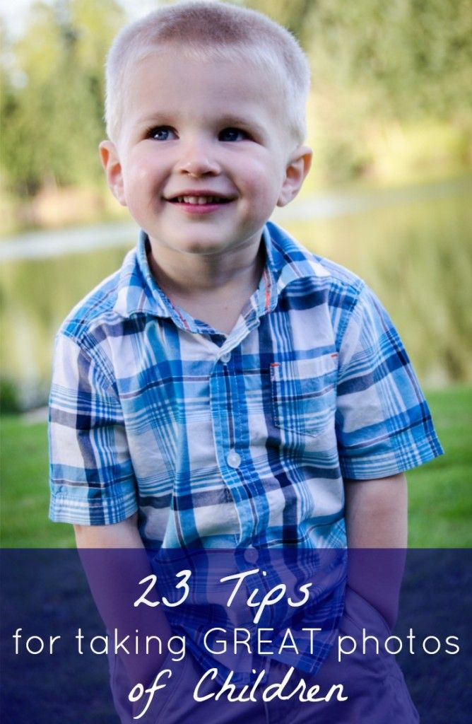 How to Take Great Pictures of Children - Meaningful Mama