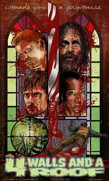 The Walking Dead Artwork by Kirk Manley. season 5