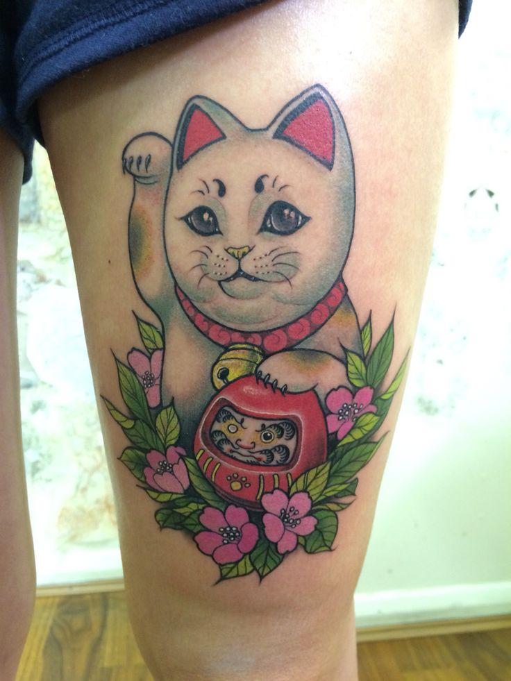 35 best gatos orientales images on pinterest maneki neko japanese tattoos and tattoo ideas. Black Bedroom Furniture Sets. Home Design Ideas