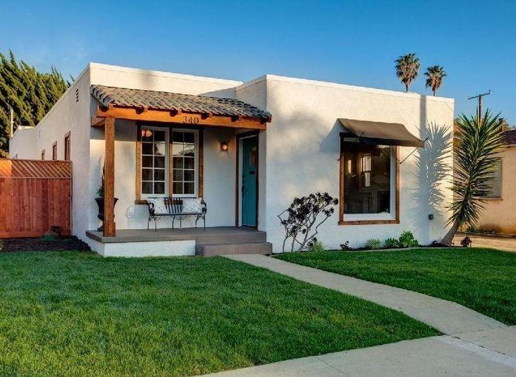 Best 20 spanish bungalow ideas on pinterest spanish for Spanish bungalow exterior paint colors