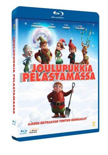 Joulupukkia pelastamassa (Blu-ray) 5,95e