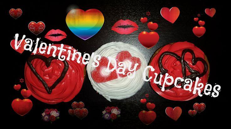 Valentine's Day Cupcakes New Video! #valentinesday #baking #youtube #love #cupcakes #valentinesdaygiftideas #valentinesdaybaking