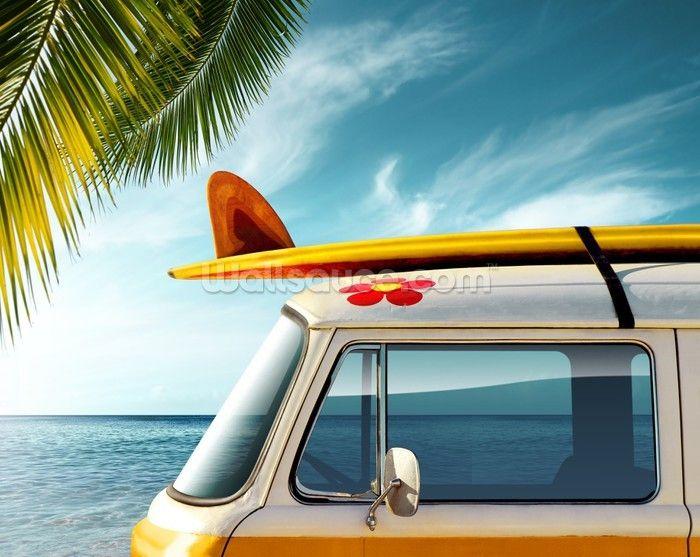 Surf Board Camper Van