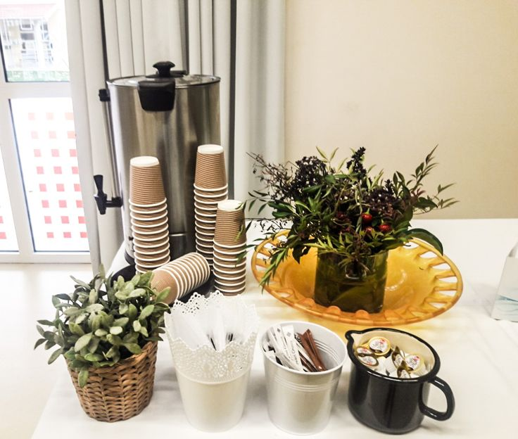 Coffee break detail by F Zone Catering & Events