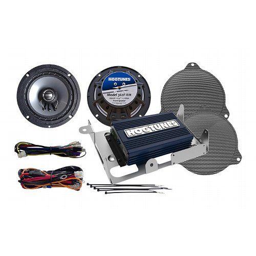 Hogtunes Speaker & Amp Kit For Harley Street Glide 2014-2016 - @RevZilla