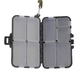 Fishing Tackle Boxes for Storing Hooks, Swivels, Lures.