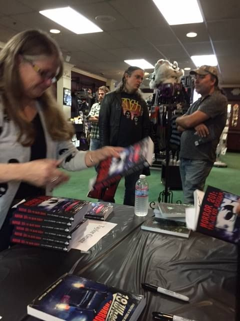 Horror 201: The Silver Scream signing at Dark Delicacies.