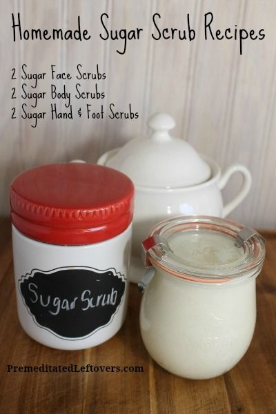 I live in the high desert where the dry climate leads to very dry skin. I like using sugar scrubs to help exfoliate my skin. I combine the sugar with an oil that will moisturize my skin. I create sugar scrubs for my face, body, and hands and feet. I alter the type of sugar