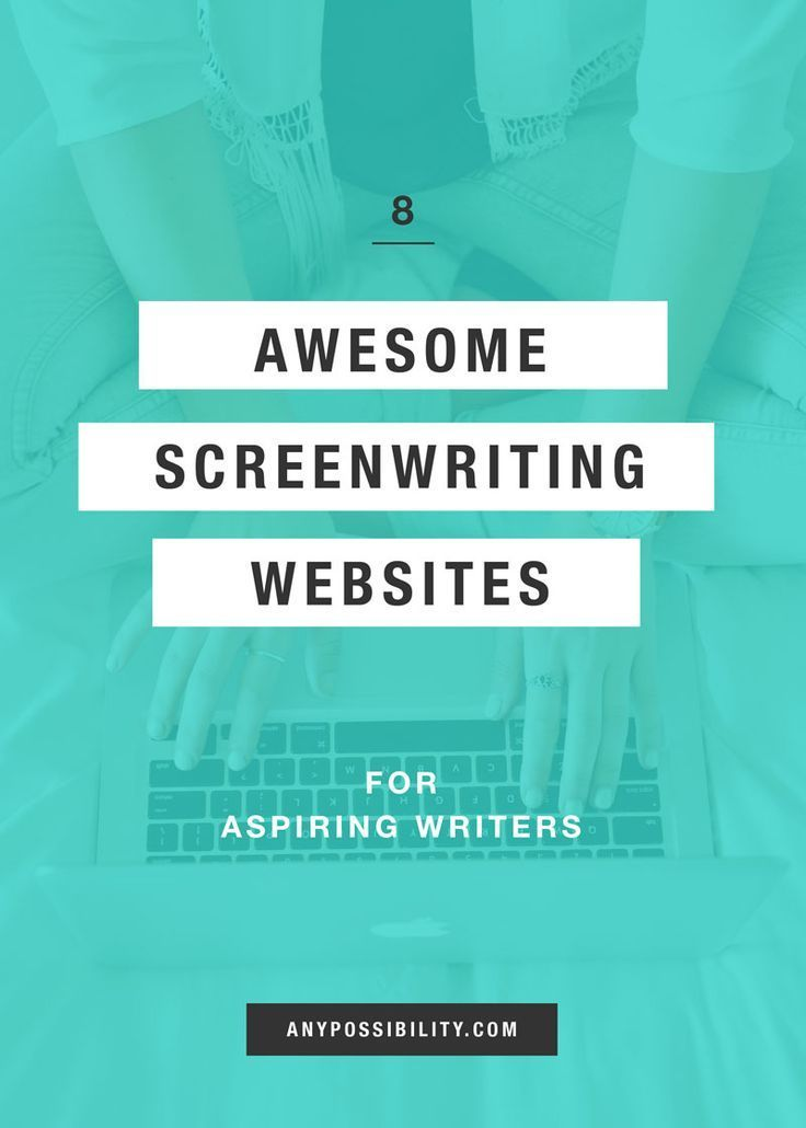 8 Awesome Screenwriting Websites for Aspiring Writers