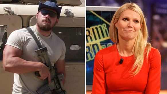 Gwyneth Paltrow Compares Reading 'Mean' Tweets to Enduring a 'Bloody War'; Green Beret Educates Her in EPIC Post