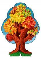 Распечатать дерево «Времена года». Часть «Осень»