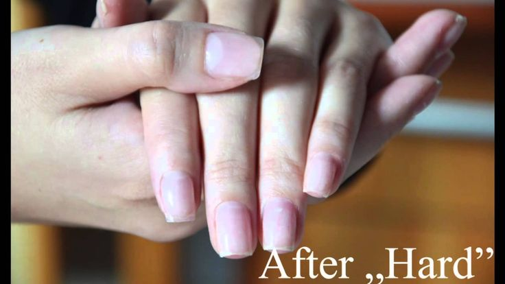 Hybrid manicure - nail extensions Semilac Hard!