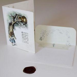 Carte Alice - The Cheshire Cat
