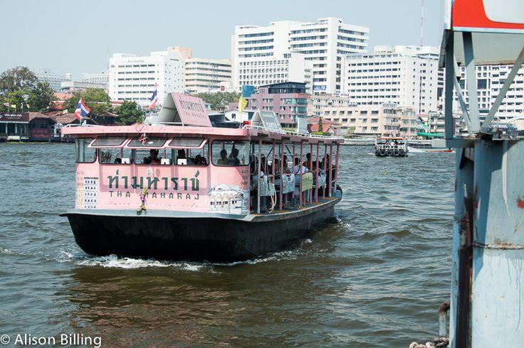 Pink boat, Bangkok