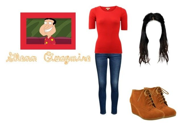 """Female Glenn Quagmire"" by dairyqueen55 ❤ liked on Polyvore featuring Michael Kors, familyguy and Quagmire"