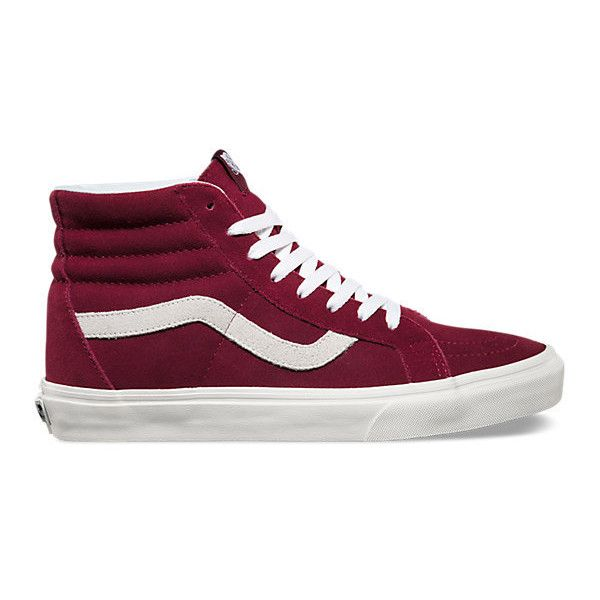 SK8-Hi Reissue ($60) ❤ liked on Polyvore featuring men's fashion, men's shoes, men's sneakers, shoes and sneakers