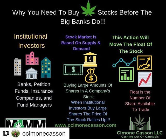 Repost Ccimonecasson With Get Repost Did You Know That Institutional Investors Are The Ones Who Really Move The Stock P With Images Investors Stock Prices Stock Market